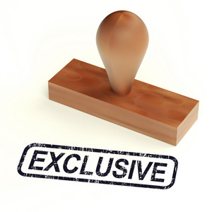 Exclusive Rubber Stamp Shows Limited Products