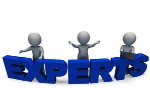 Experts Word Shows Expertise And Consultants