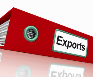 Exports File Showing Global Distribution