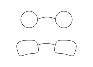 Eyewear Specs Frames Vectors