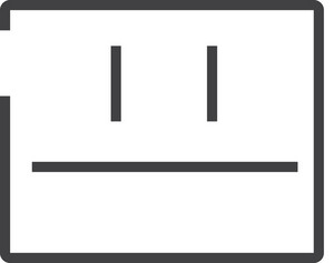 Face 5 Minimal Icon