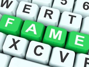 Fame Keys Show Famous Or Popular