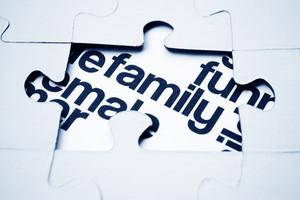 Family Puzzle Concept