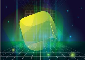 Fancy Cubes. Vector.