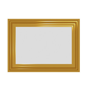 Fancy Gold Frame Background