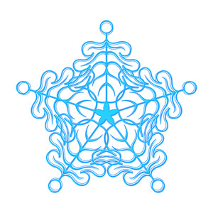 Fancy Snowflake Design