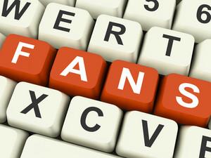 Fans Keys Show Follower Or Internet Friend