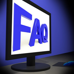 Faq On Monitor Showing Assistance