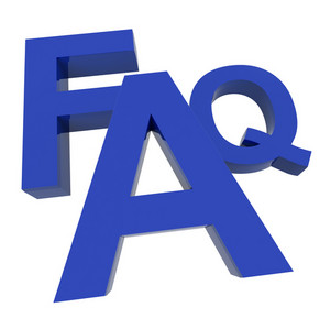 Faq Word Showing Information Questions And Answers