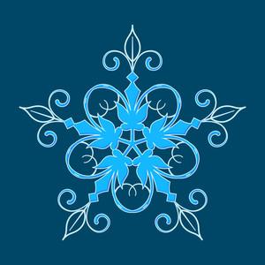 Fashionable Snowflake