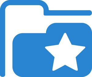 Favorites Folder Simplicity Icon
