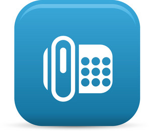 Fax Machine Elements Lite Icon