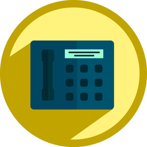 Fax Phone Icon
