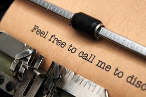 Feel Free To Call Me