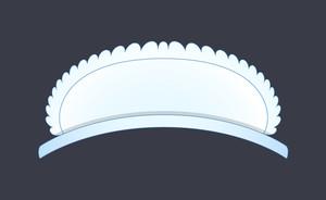 Female Fabric Head Cap