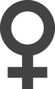 Female Glyph Icon