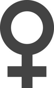 Female Glyph Icon
