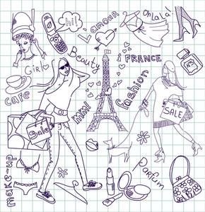 Feminine Doodles