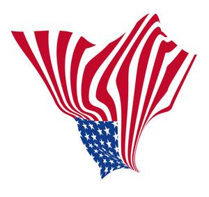 Festival America Wavy Flag