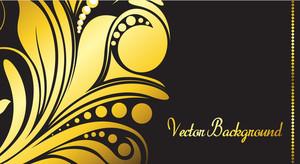 Festival Golden Flourish Banner