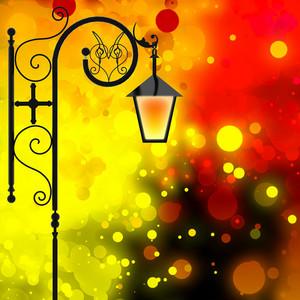 Festive Night Background