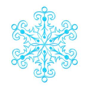Festive Xmas Snowflake