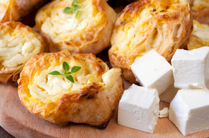 Feta Cheese And Pastry
