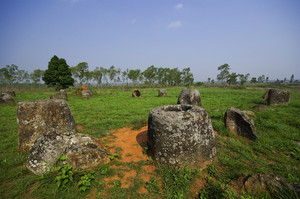 Field of Jars in Phonsavan, Laos