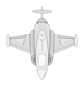Fighter Plane Vector