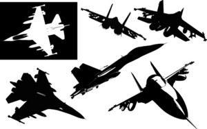 Fighters Silhouette Kit