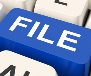 File Key Means Filing Or Data Files