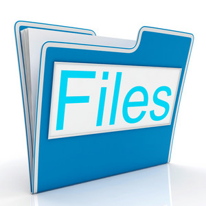 Files Word Showing Organizing And Reports