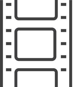 Film 1 Minimal Icon