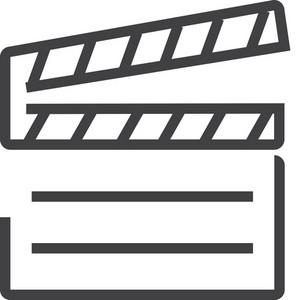 Film 3 Minimal Icon