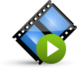 Film Play Button Lite Media Icon