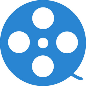 Film Reel Simplicity Icon