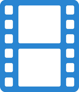Film Strip Simplicity Icon
