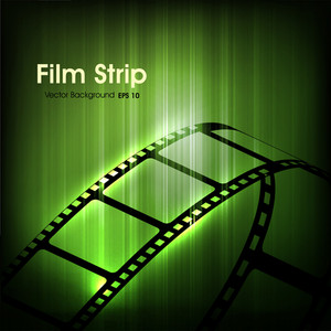 Film Stripe Or Film Reel.