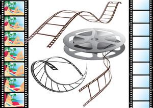 Films. Vector