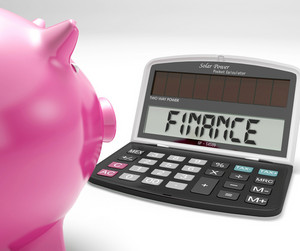 Finance Calculator Shows Revenue Income And Success