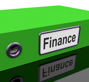 Finance File Holds Earnings And Investment Documents