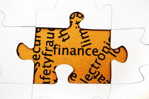 Finance Puzzle Concept