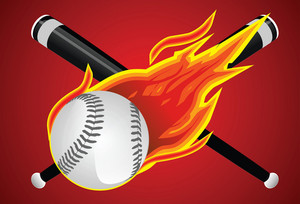Fire Ball Baseball