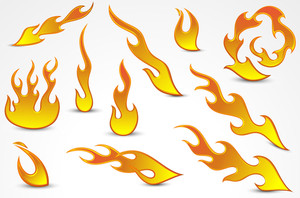 Fire Flames Vectors