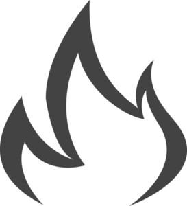 Fire Glyph Icon