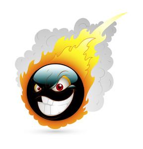 Fireball Smiley