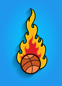 Fireball Vector Element