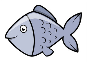 Fish - Cartoon Vector Illustration