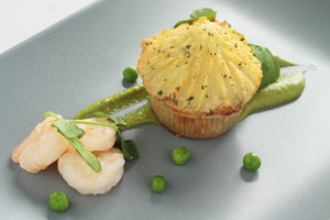 Fish Pie Plated Appetizer Starter
