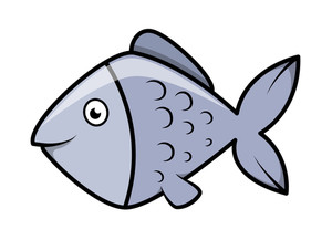 Fish - Vector Cartoon Illustration